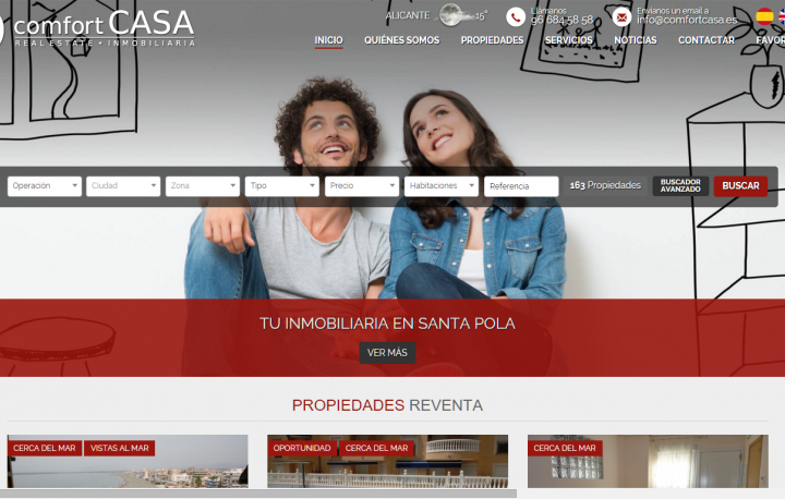Comfortcasa New Website